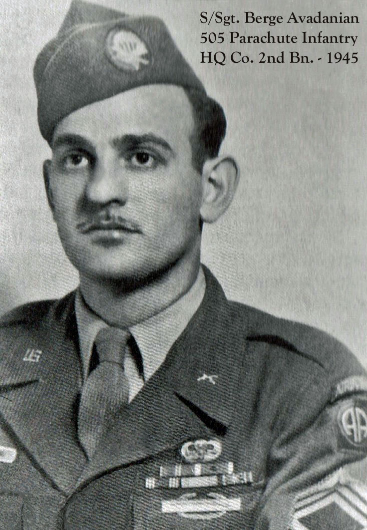 S/Sgt. Berge Avadanian - 2HHC