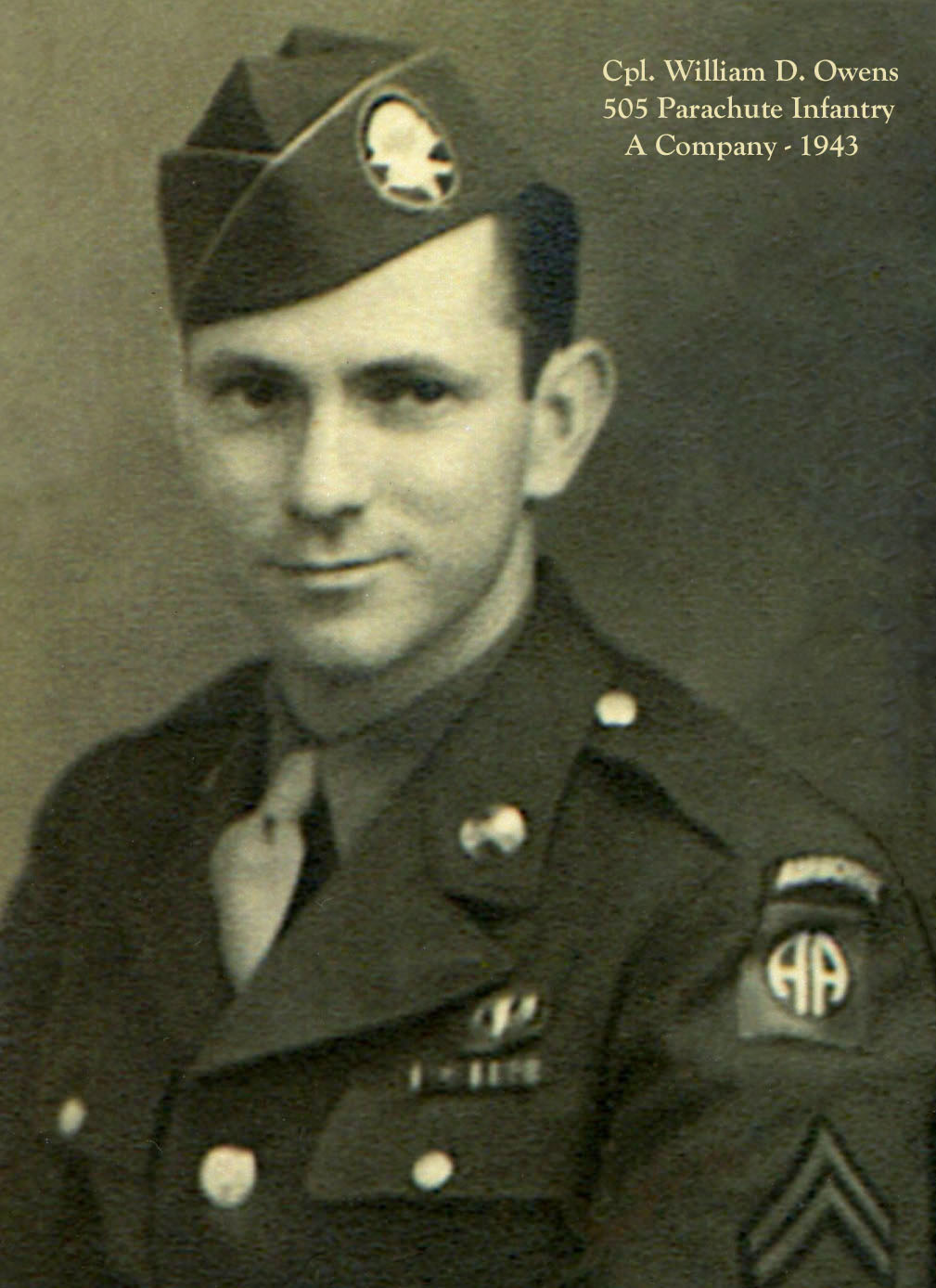 S/Sgt. William D. Owens - A Co.