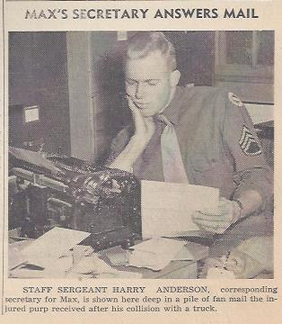 Staff Sergeant Harry E. Anderson 1943