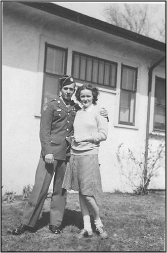 Joe and Betty Bronk 1945.