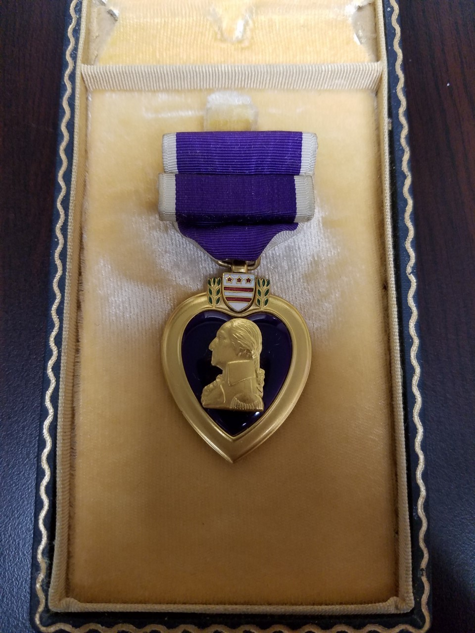Private Wesley Forsythe's Purple Heart 1944.