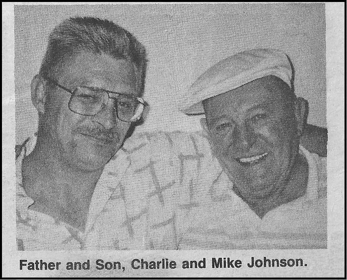 Mike and Charlie E Johnson Static Line picture 1991