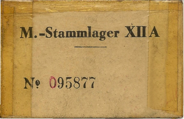 FXS-WW II prison camp number December 24-1944 to March 28-1945
